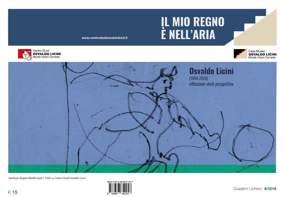 Il mio regno è nell'aria. Osvaldo Licini (1958-2018) riflessioni_studi_prospettive