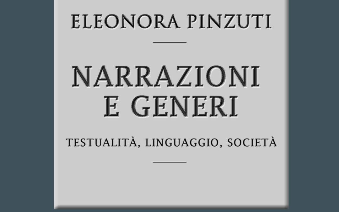 """""""Narrazioni e generi"""" – Eleonora Pinzuti"""