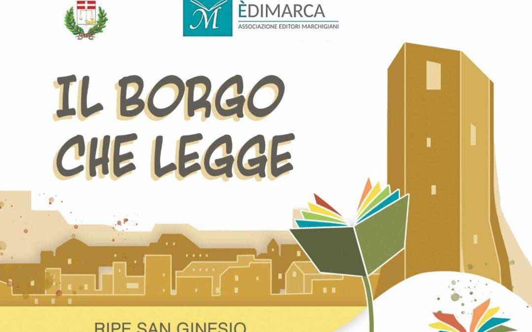 """""""Il borgo che legge"""" – Ripe San Ginesio, 31 luglio/1 agosto 2021"""