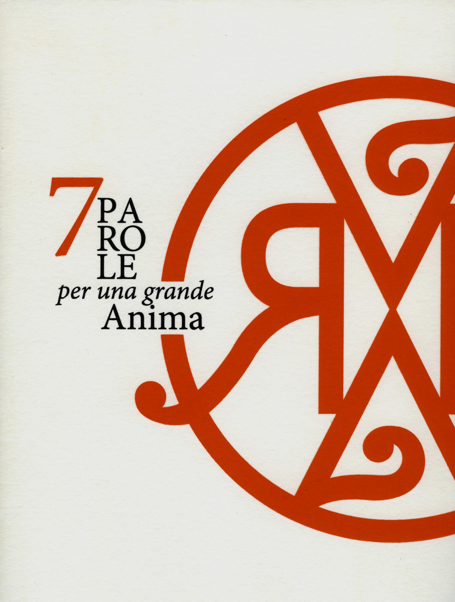 """""""7 parole per una grande Anima. Dedicato a Rosy Medri""""di Valerio Palmieri"""