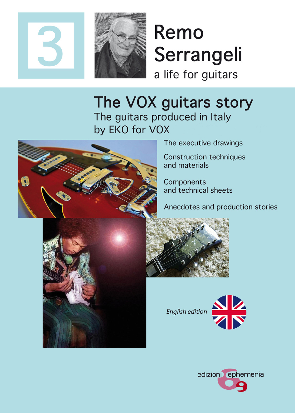 The VOX guitars story. The guitars produced in Italy by EKO for VOX from 1968 to 1982