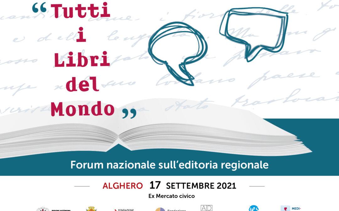 """""""Tutti i libri del mondo"""" – 17 settembre 2021, Alghero"""
